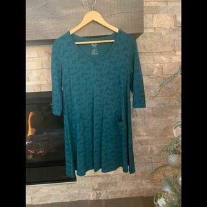Cosy Bamboo/Cotton Swing Dress/Tunic